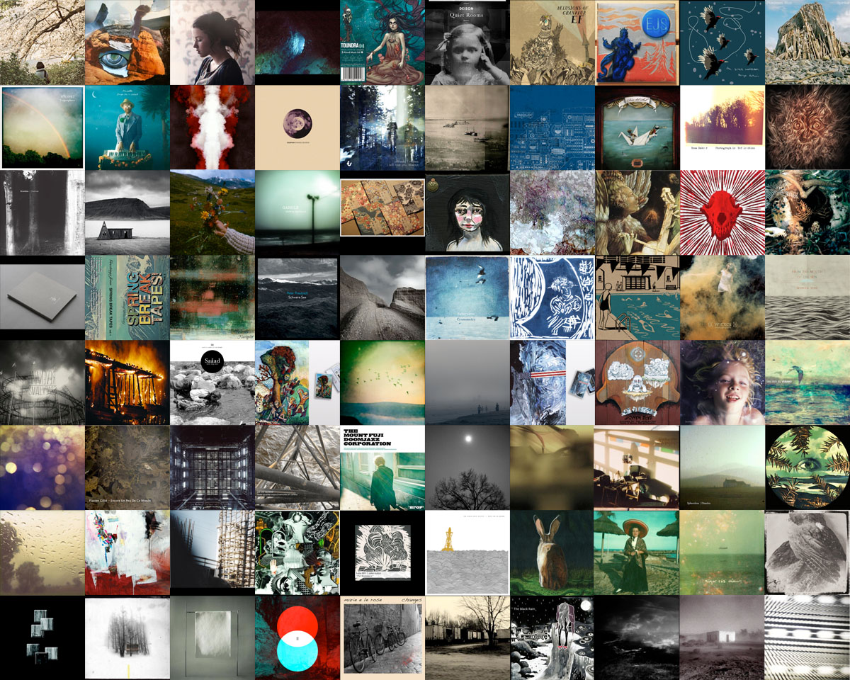 Acl 2012 The Year S Best Album Covers A Closer Listen
