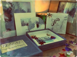 Inside the box (large paintings available in deluxe edition)