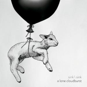 a lone cloudburst