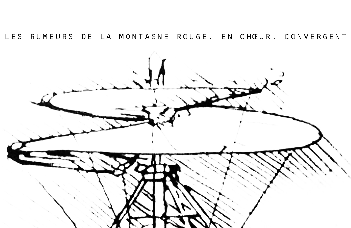 Stefan Christoff & Joseph Sannicandro ~ Les Rumeurs de la Montagne Rouge, En Chœur,Convergent