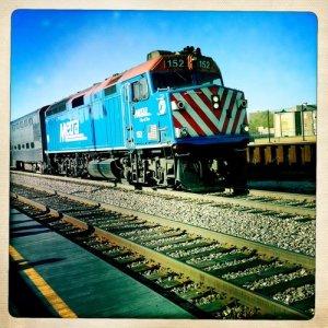 Metra Locomotive