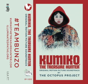 The Octopus Project - Kumiko, the Treasure Hunter OST by the Octopus Project - cover