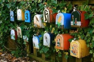 beautiful mailboxes