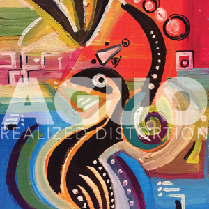 Aguo - Realized Distortion - cover