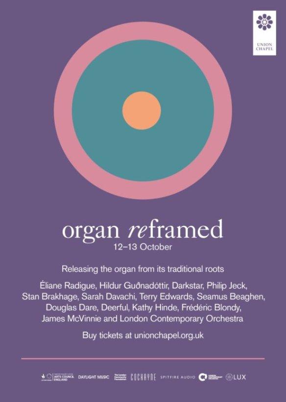 Organ Reframed 2018   a closer listen